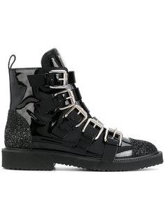 ботинки с ремешками и блестками Giuseppe Zanotti Design