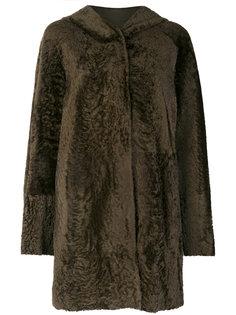 классическое приталенное пальто Drome