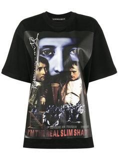 свободная футболка The Real Slim Shady Y / Project