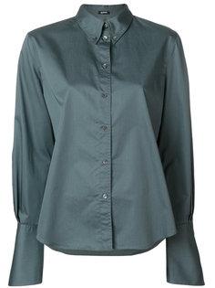 блузка на пуговицах с воротником  Jil Sander Navy