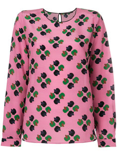 блузка шифт с вышивкой Odeeh