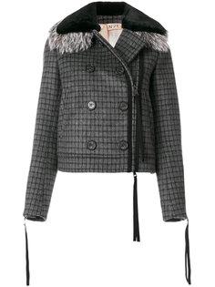 двубортная куртка Nº21
