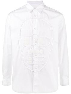 рубашка с прошитым лицом Comme Des Garçons Shirt