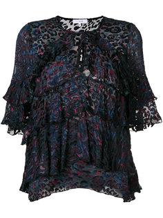 жаккардовая блузка  Iro