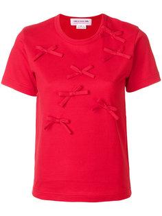 футболка с бантом  Comme Des Garçons Girl