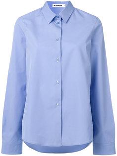 классическая приталенная рубашка  Jil Sander