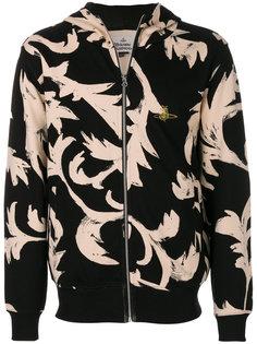 узорчатая худи на молнии Vivienne Westwood