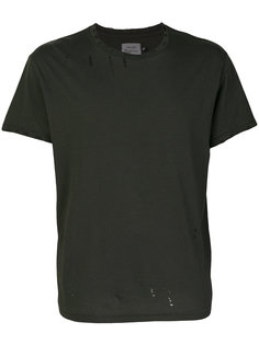 футболка с рваными деталями R13