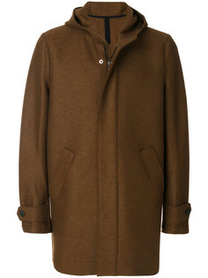 пальто с потайной застежкой Harris Wharf London