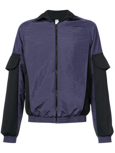 куртка-бомбер в стиле колор блок Cottweiler