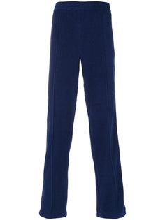 брюки с принтом в ромбы MSGM