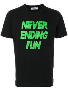 футболка с принтом слогана Tim Coppens