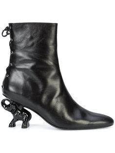 elephant heel boots Dorateymur