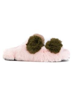 сандалии с искусственным мехом Suecomma Bonnie