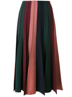 плиссированная юбка миди Gabriela Hearst