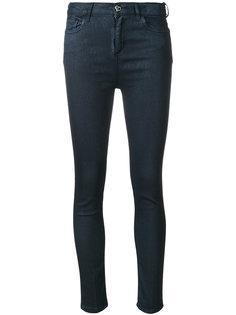 джинсы скинни с вощеным покрытием Twin-Set