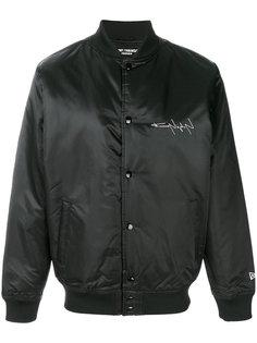 куртка бомбер с принтом Yohji Yamamoto