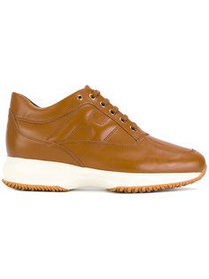 туфли на шнуровке Hogan