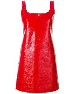платье мини без рукавов  Courrèges
