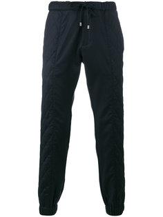 спортивные брюки со стегаными панелями Etro
