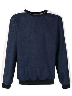 denim sweatshirt Andrea Crews