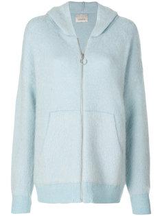 knit hoodie  Laneus
