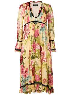 платье с цветочным принтом Twin-Set