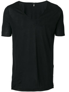 low neck T-shirt Unconditional