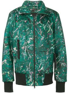 куртка-бомбер  с воротником-воронкой Y-3
