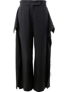 широкие брюки Moohong