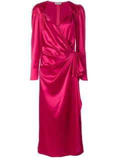 вечернее платье с вырезом стиля сердце Attico