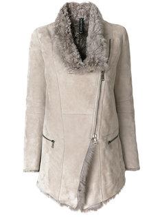куртка с асимметричной застежкой на молнии Giorgio Brato