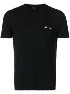 футболка с нашивкой Fendi