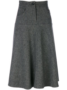твидовая А-образная юбка  Walk Of Shame