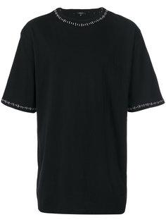 футболка с простроченной отделкой Unconditional
