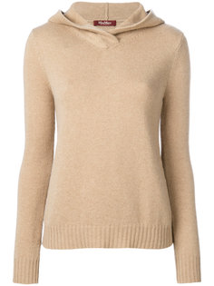 knit hooded top Max Mara Studio