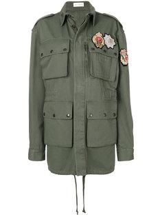 свободная куртка с аппликацией  Faith Connexion