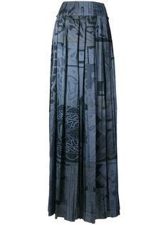 плиссированная юбка Maison Margiela