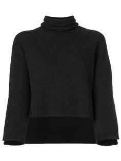 свитер с отворотом  Federica Tosi