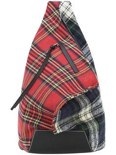 Anton tartan backpack Loewe
