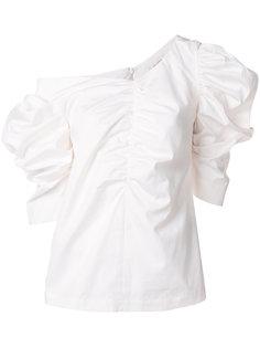 блузка с оборкой  Isa Arfen