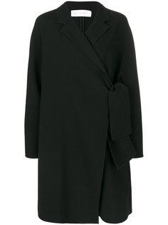 свободное пальто с завязкой  Victoria Beckham