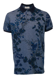 рубашка-поло с цветочным принтом Etro