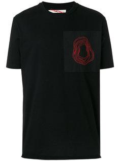 футболка с вышивкой Damir Doma