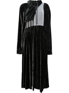 платье в полоску Aalto