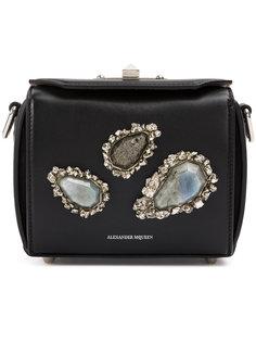 декорированная сумка на плечо Alexander McQueen
