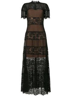 платье с кружевом Twin-Set