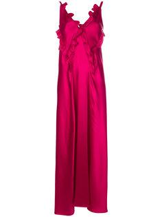 frill detail dress Attico
