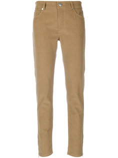 узкие вельветовые брюки Loro Piana