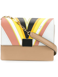 сумка на плечо на цепочной лямке Emilio Pucci